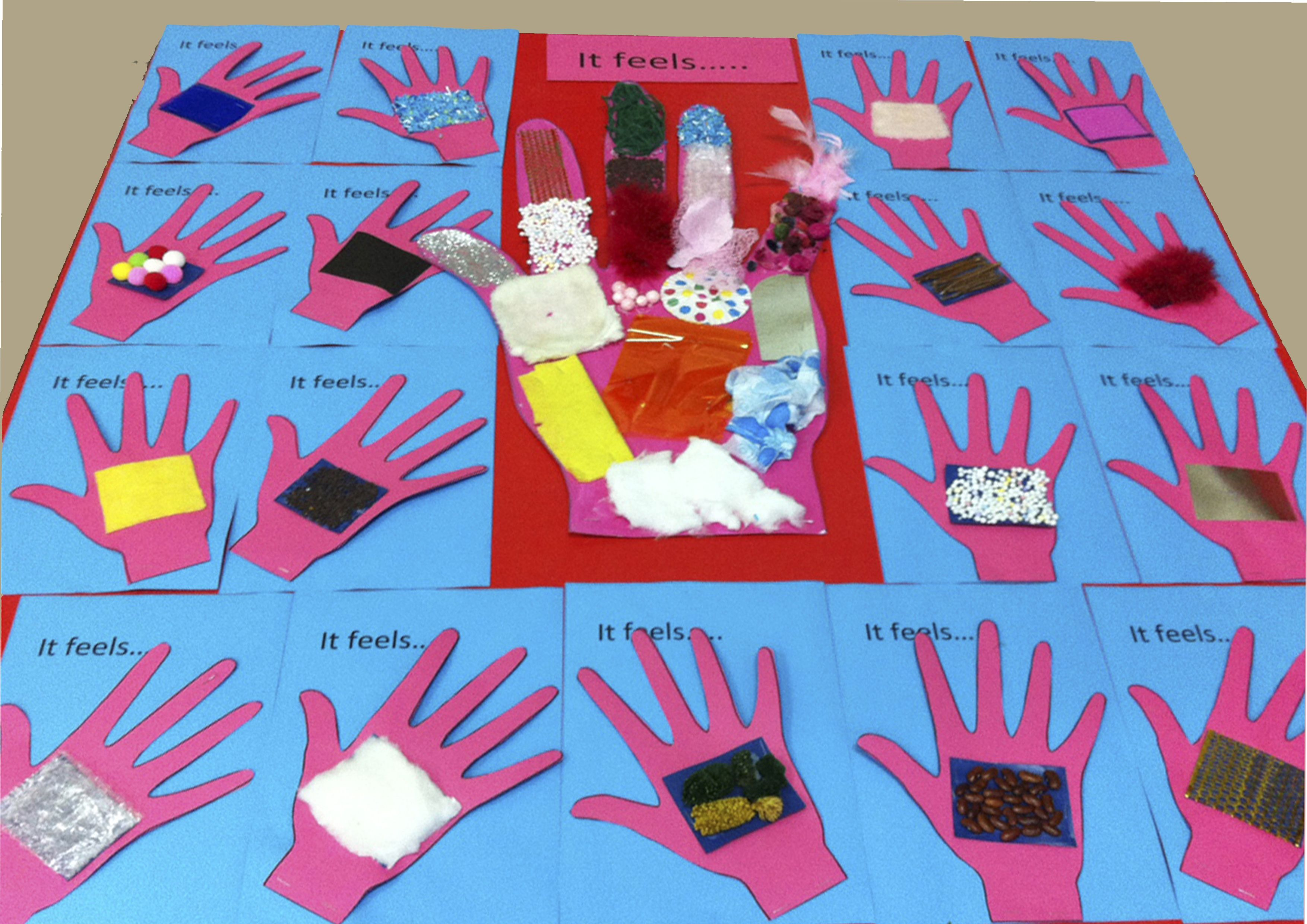During Our 5 Senses Unit For The Sense Of Touch We Did