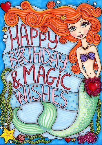 Image result for Happy Birthday my Mermaid friend.