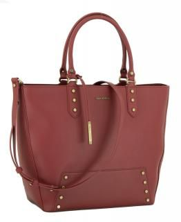 Marc O'Polo Stella Tote Bag Shopper chili red rot Nieten