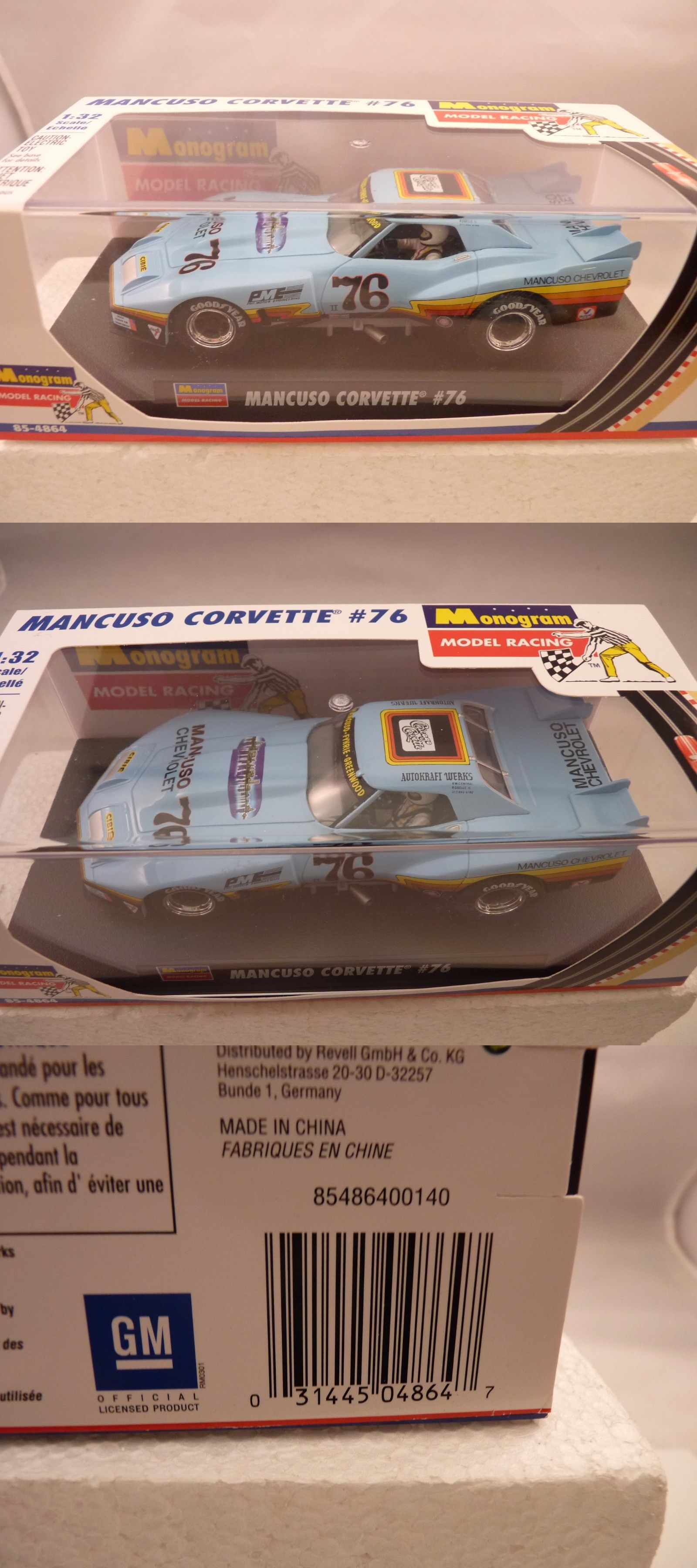 1 32 Scale 164791 Revell 85 4864 Monogram Model Racing Mancuso