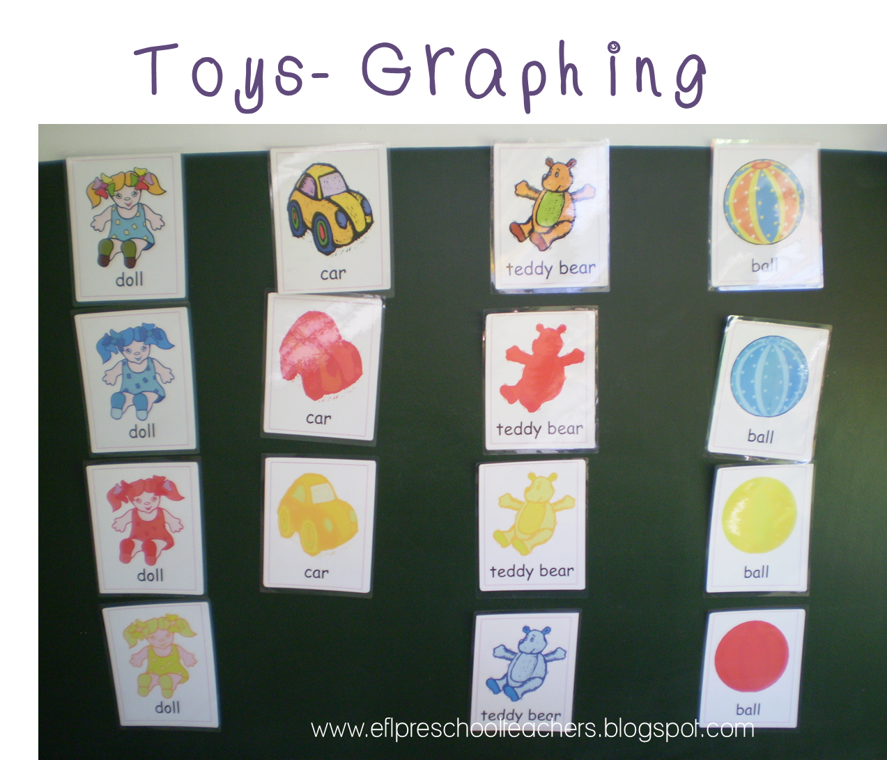 Esl Efl Preschool Teachers Toys