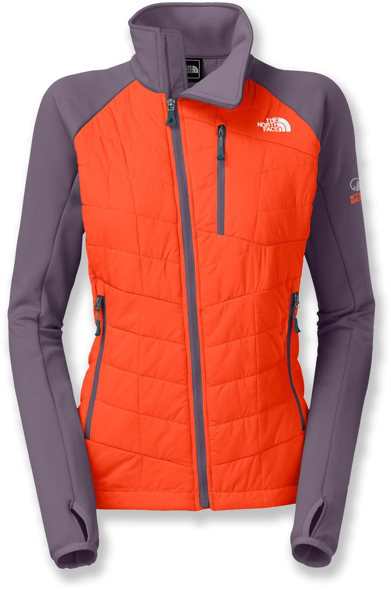 Women's North Warm Hybrid The Face Jacket Combines Pemby Insulated nPFqZ1Rp