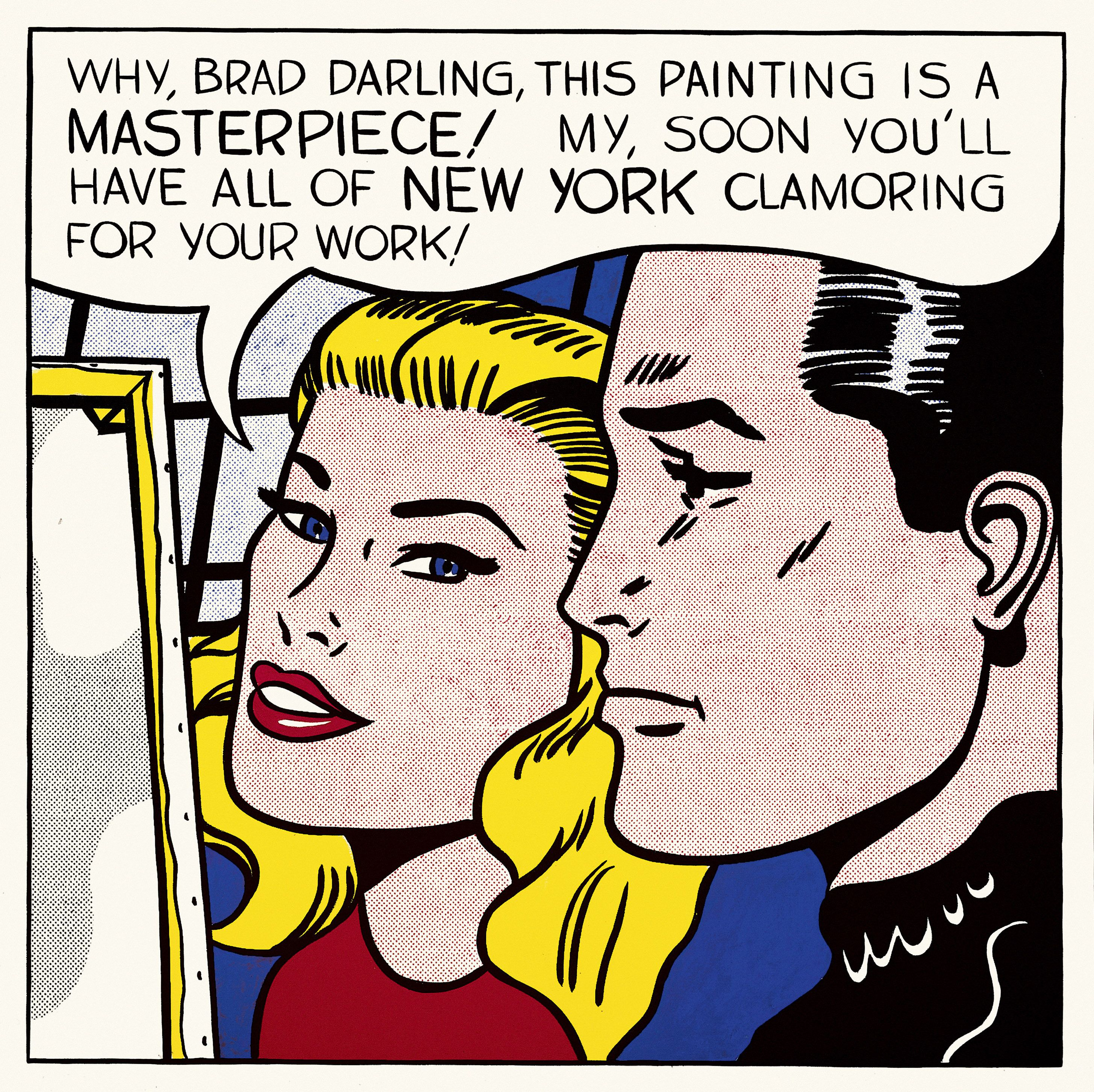 Roy Lichtenstein 1923 1997 Oh Jeff I Love You Too But 1964 Collection Simonyi Pop Art Print Roy Lichtenstein Pop Art Roy Lichtenstein