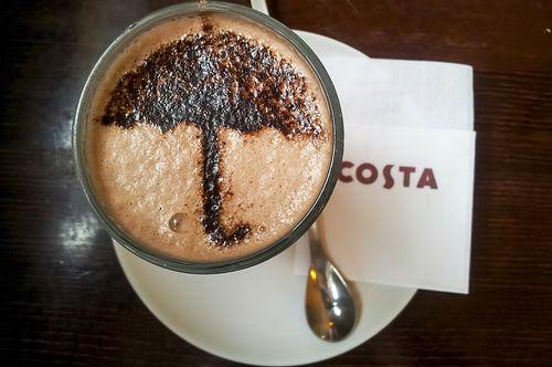 Café para los días de lluvia!