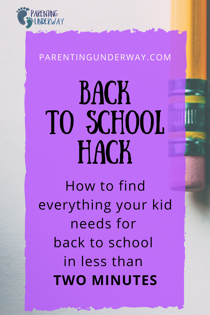 It s almost back to school time. Check out this awesome way to know everything  your kid needs for back to school in less than 2 minutes. a438a52373