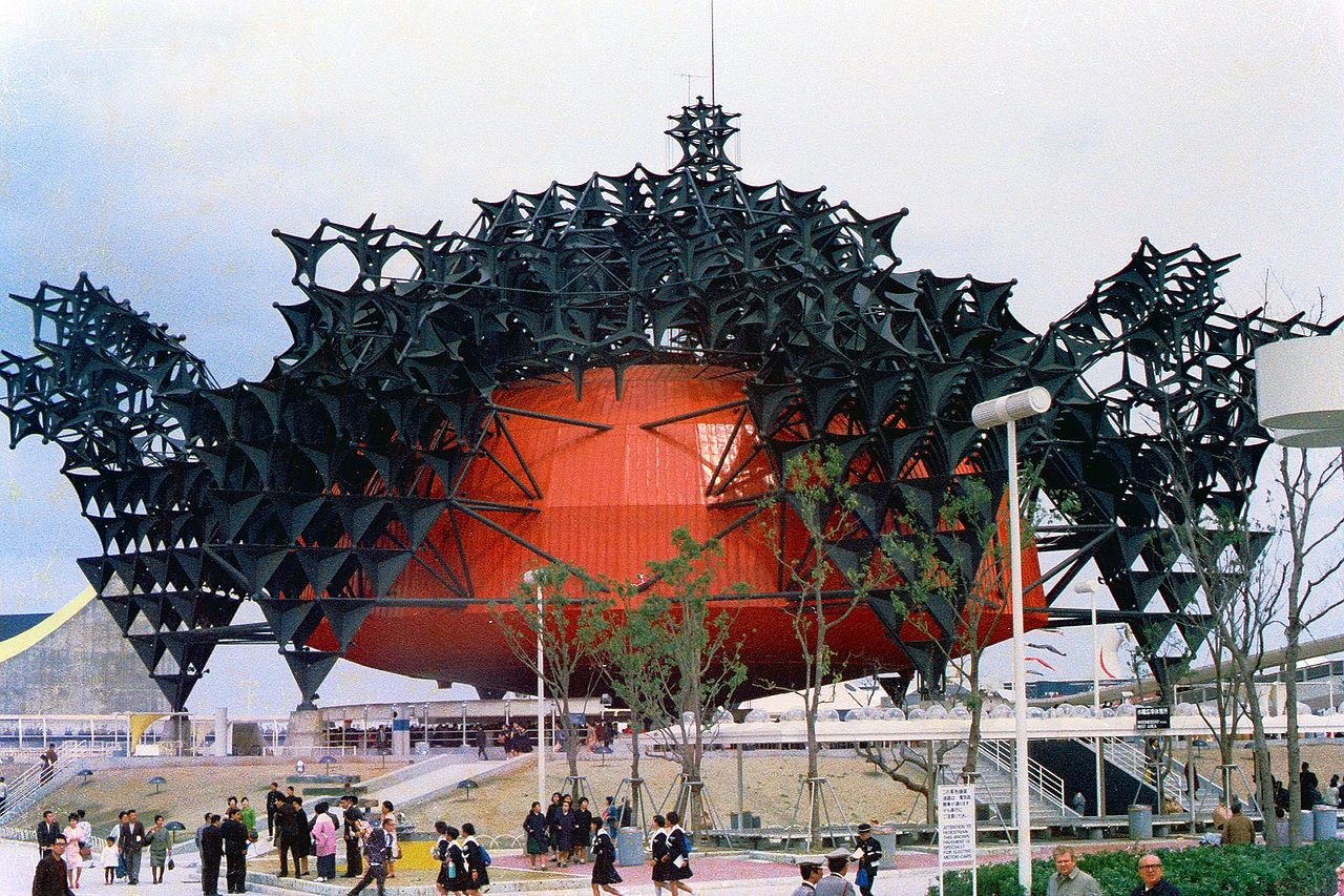 Toshiba-IHI Pavilion - Metabolism (architecture) - Wikipedia, the free encyclopedia