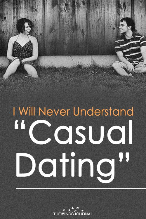 Online casual dating