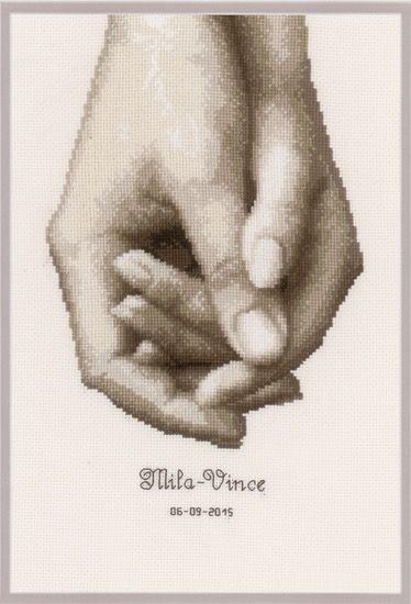Hand in hand | Kreuzstich | Pinterest | Kreuzstich