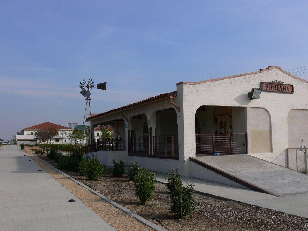 The Fontana Art Depot Was Originally Built In 1915 As The
