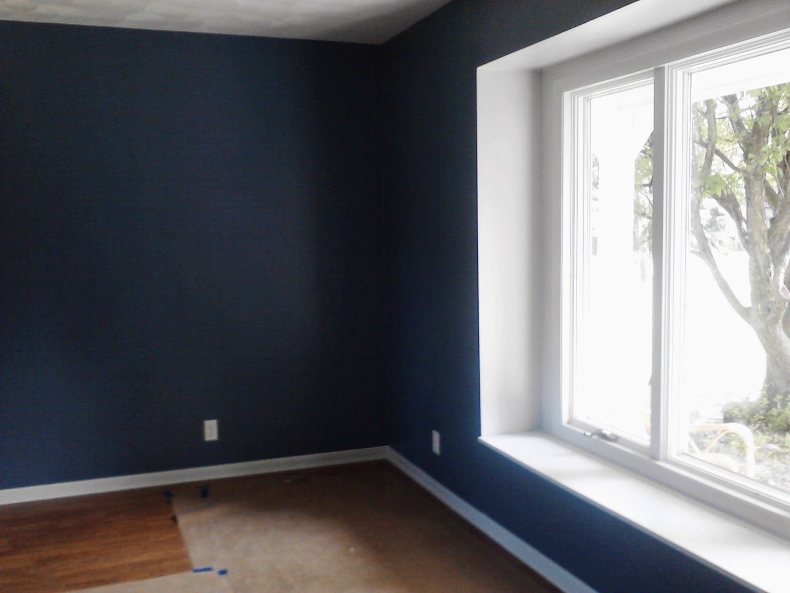 April S Country Life New House Reno Update The Living Room Valspar Paint In Retro Colonial Blue