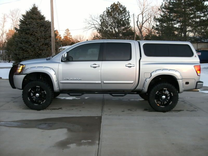 Image Result For NISSAN TITAN BED TOPPER Fender FlaresNissan