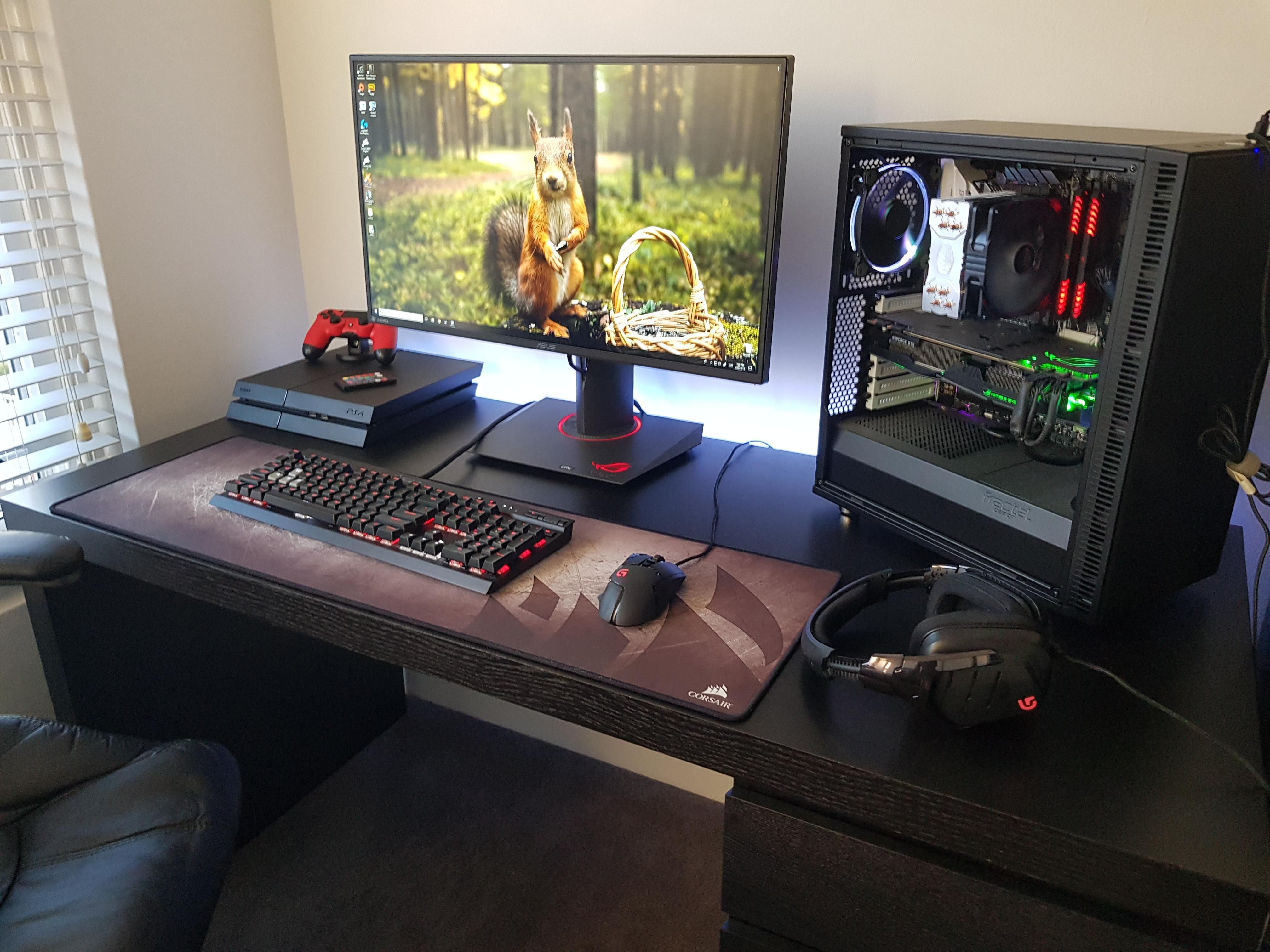 Desk For Console Gaming