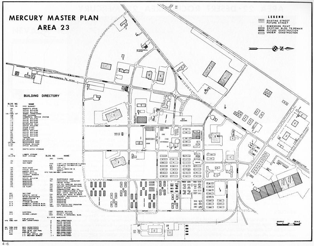 Mercury Master Plan Map Area 23
