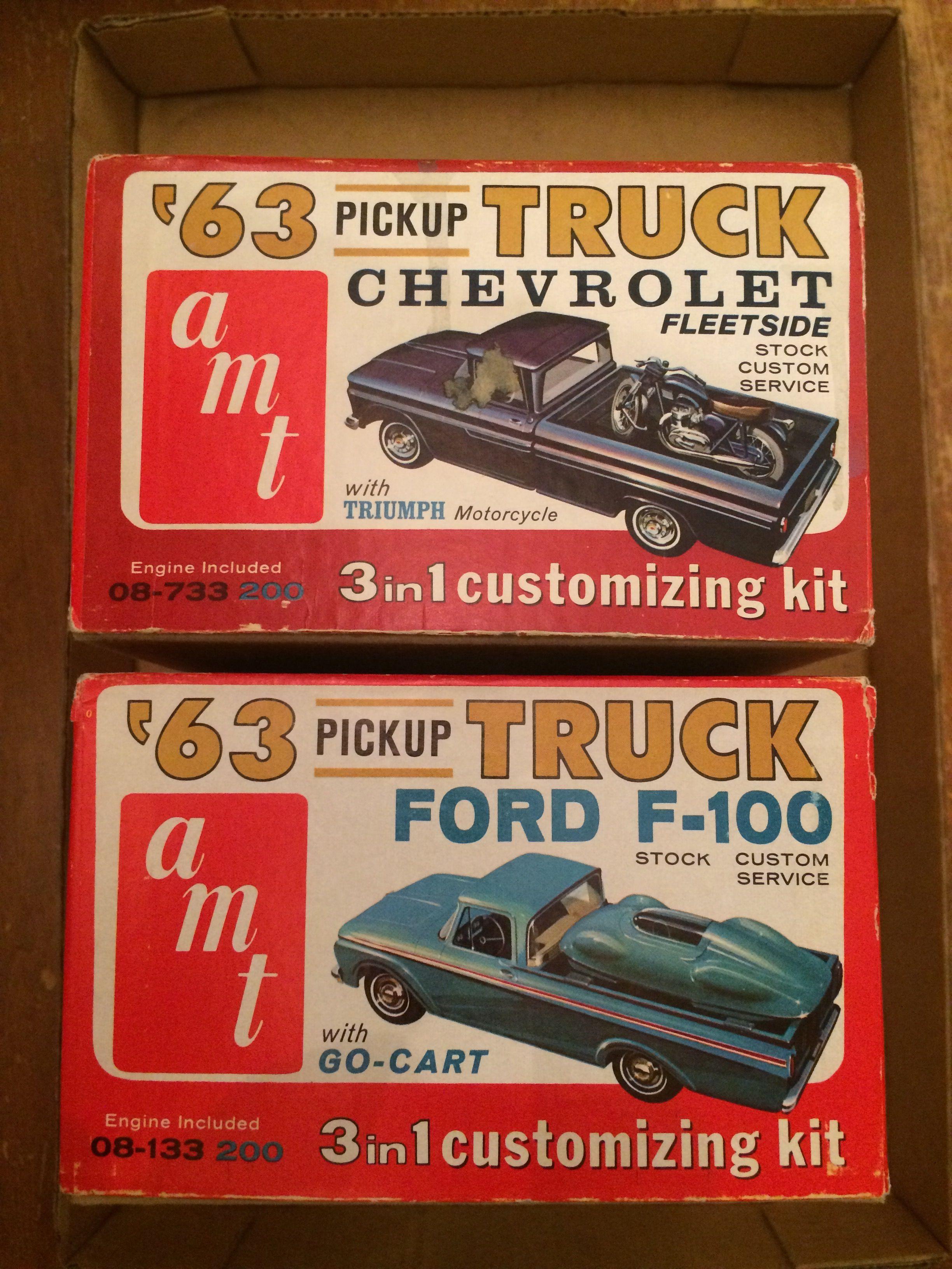 Amt 1963 Pickup Model Kits Model Cars Kits Plastic Model Kits