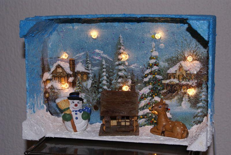 Bildergebnis f r basteln mit mandarinenkisten weihnachtsmotive pinterest basteln kiste - Weihnachtsdekoration basteln mit kindern ...