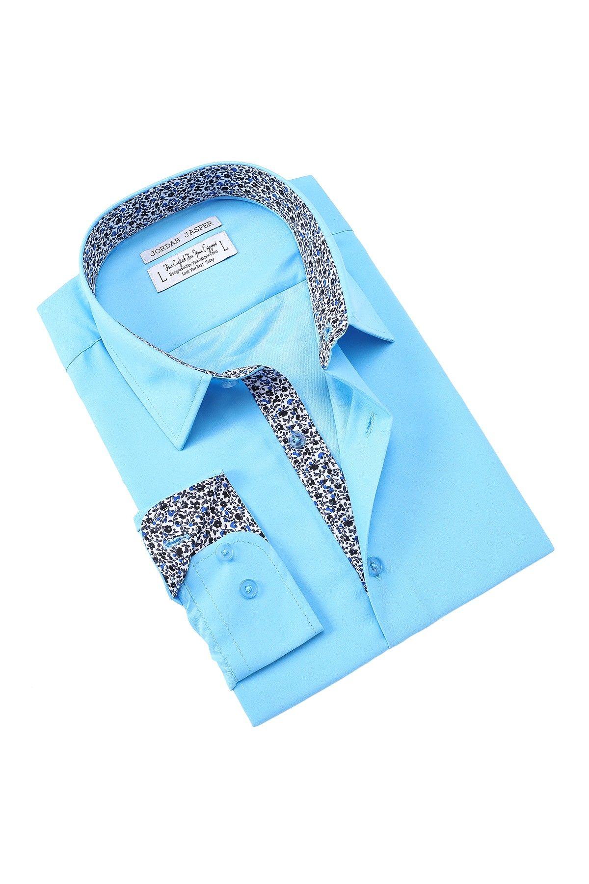 18e03c4d324c04 Jordan Jasper Novart Slim Fit Shirt