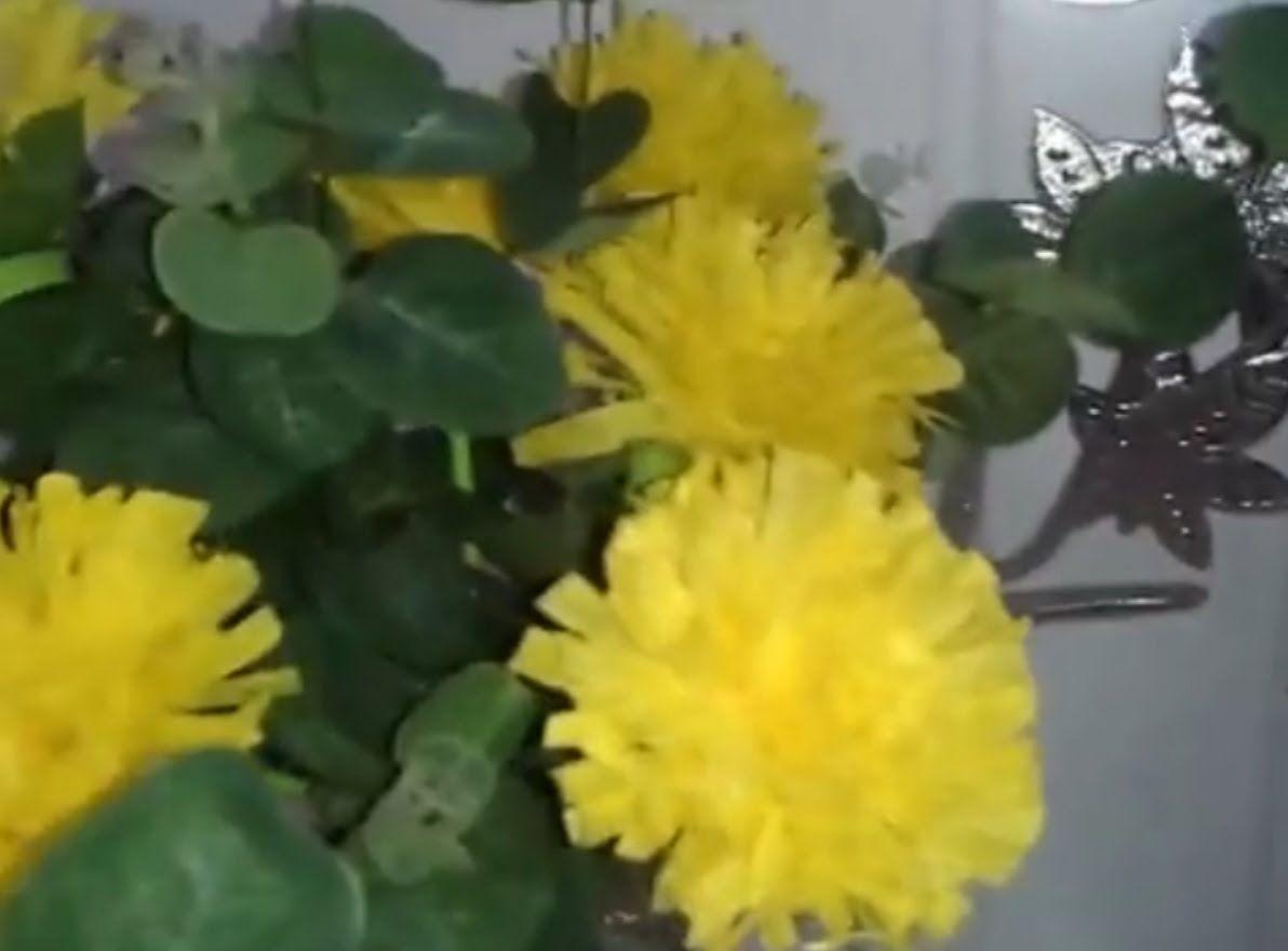 Aula 10 Como Fazer Arranjos De Flores De Papel Crepom Cravos
