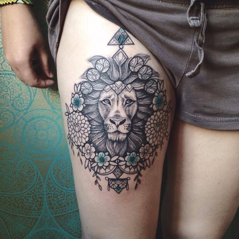 новыйl значение татуировки лев на левой руке плече ноге груди
