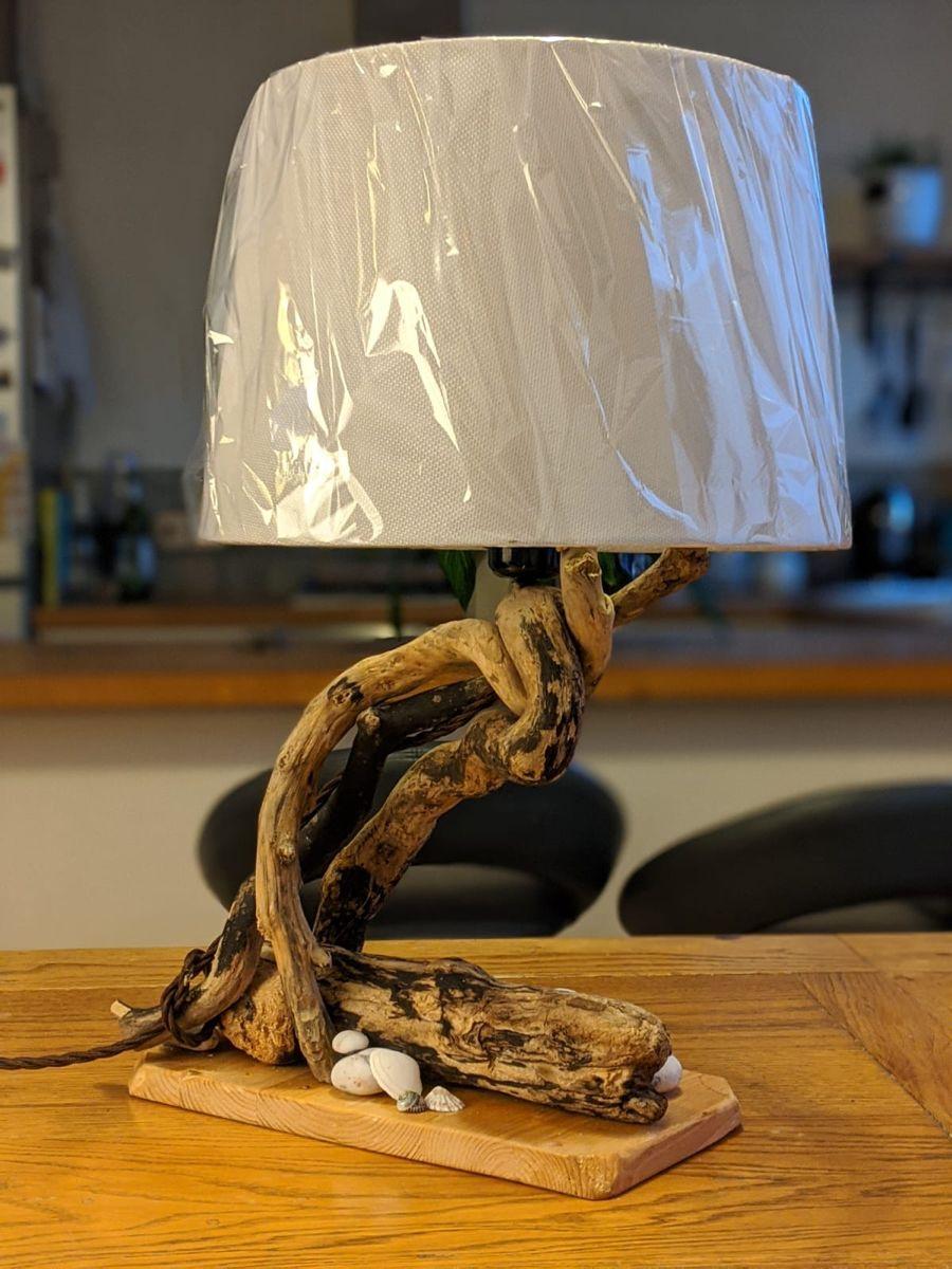 Pin On Driftwood Art Unique Lights Bottle Lamps