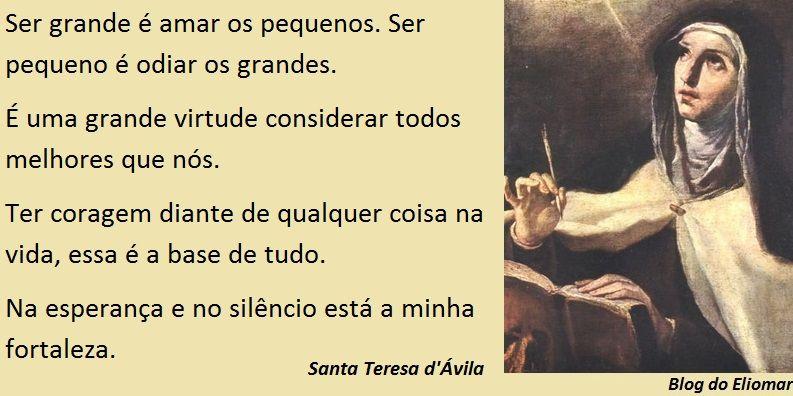 Frases De Santa Teresa D Avila Sobre A Oração Pesquisa Google