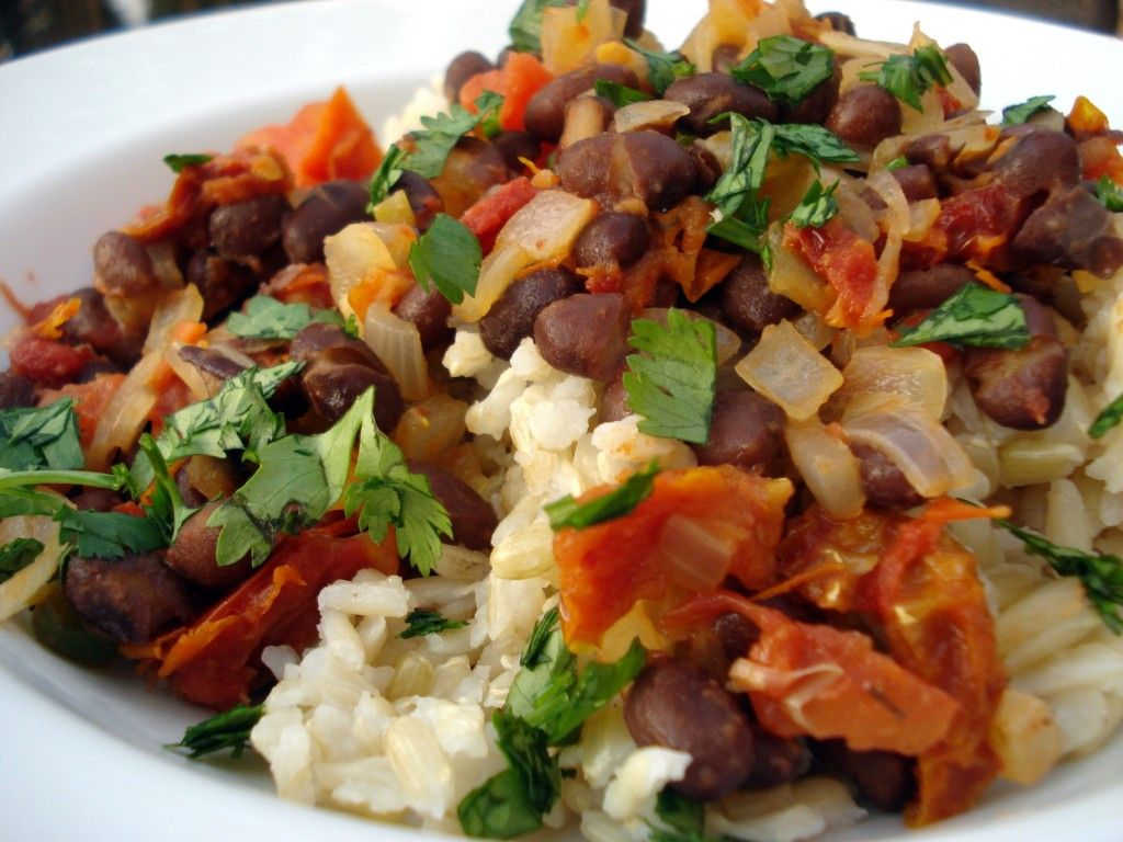 Healthy bean recipes with no meat