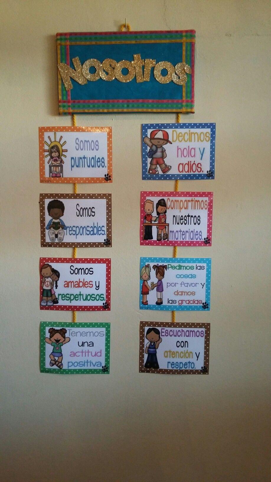 Reglas del salon from ideas de decoracion del aula para - Ideas para un salon ...
