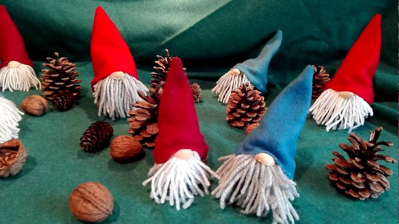 Basteln Mit Tannenzapfen Advent wichtel basteln aus tannenzapfen fleecedecke wolle und