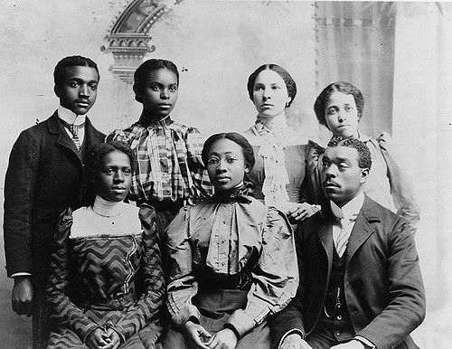 African American College Students Monicas History