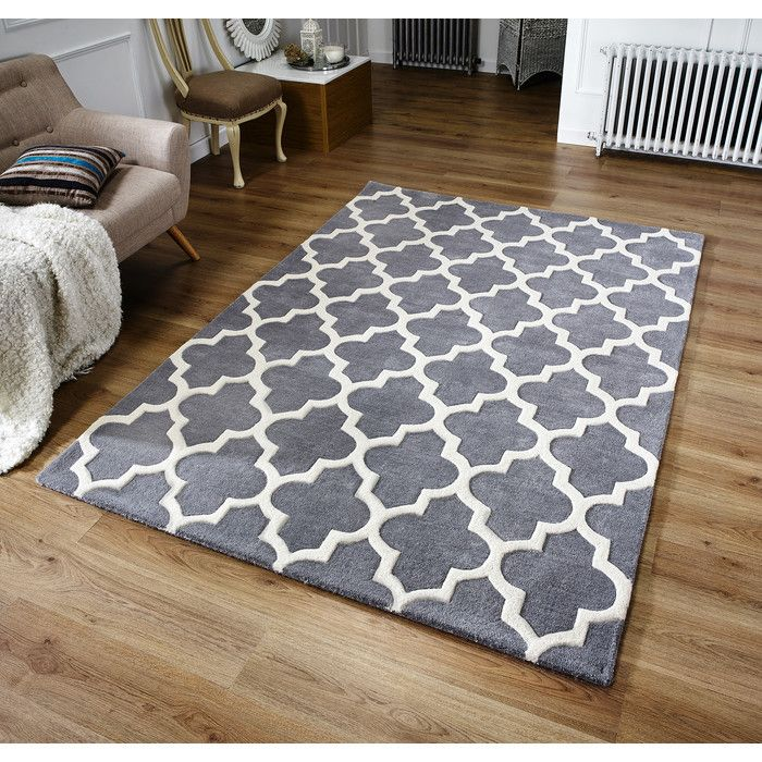 Oxon Hand Tufted Grey Rug Interior In 2019 Rugs