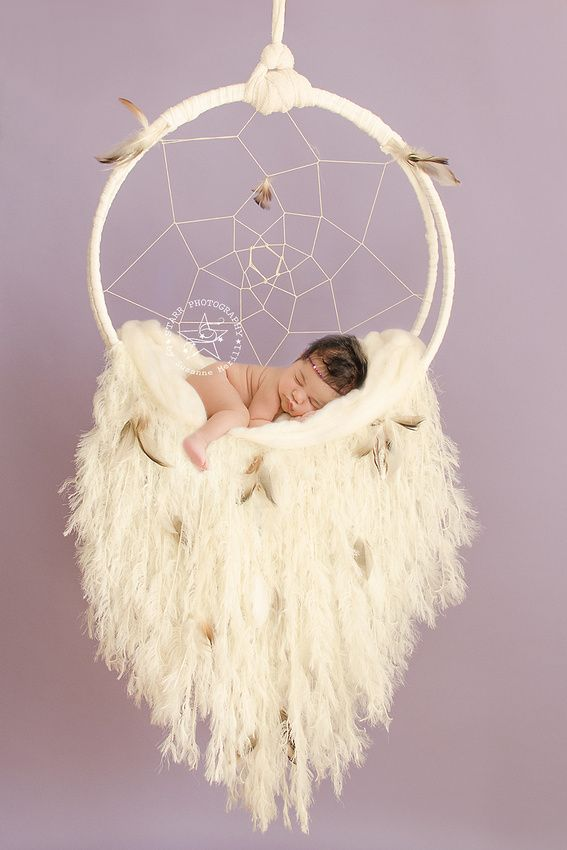 Catching Dreams Baby Photography Newborn Props Dream Catcher