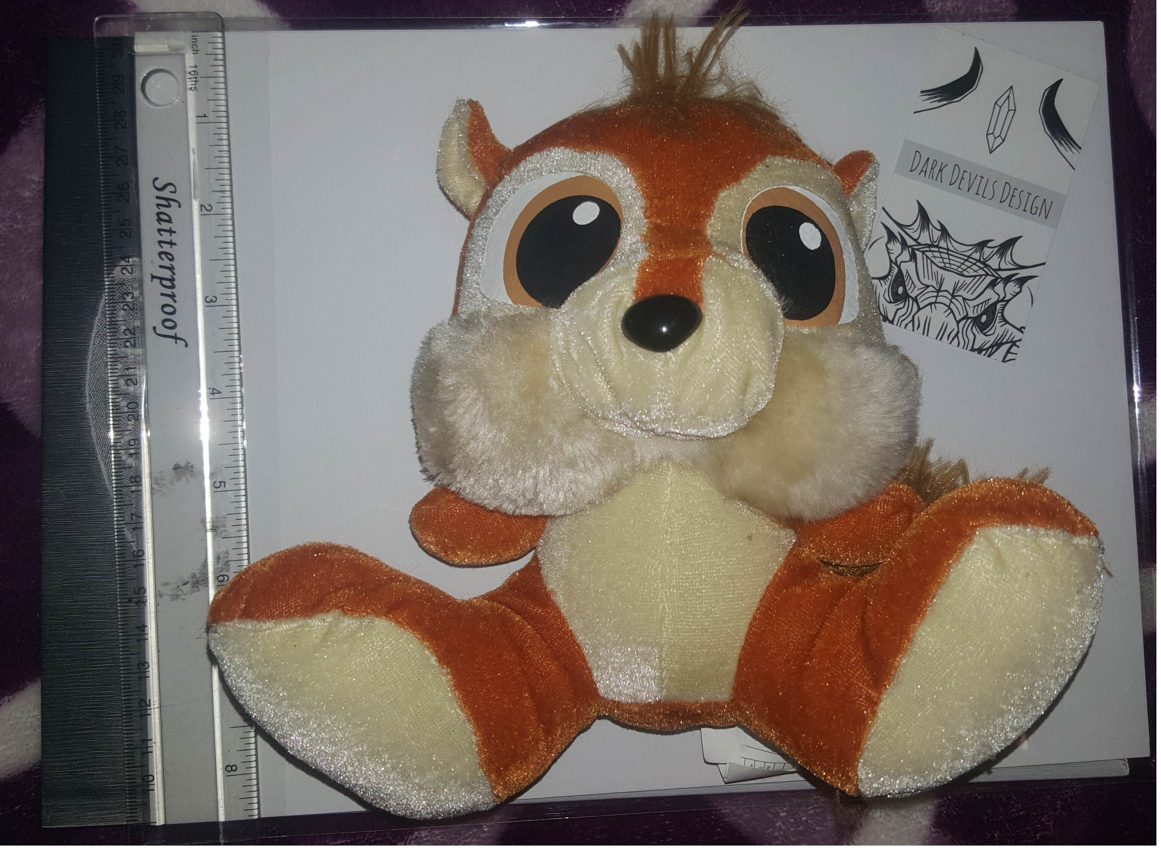 Found A Squirrel Plush At My Thrift Store Apparently Ideal Toys Made Conker Plush Looking For Any Info On This Line Up Ideal Toys Squirrel Conkers [ 2776 x 3784 Pixel ]