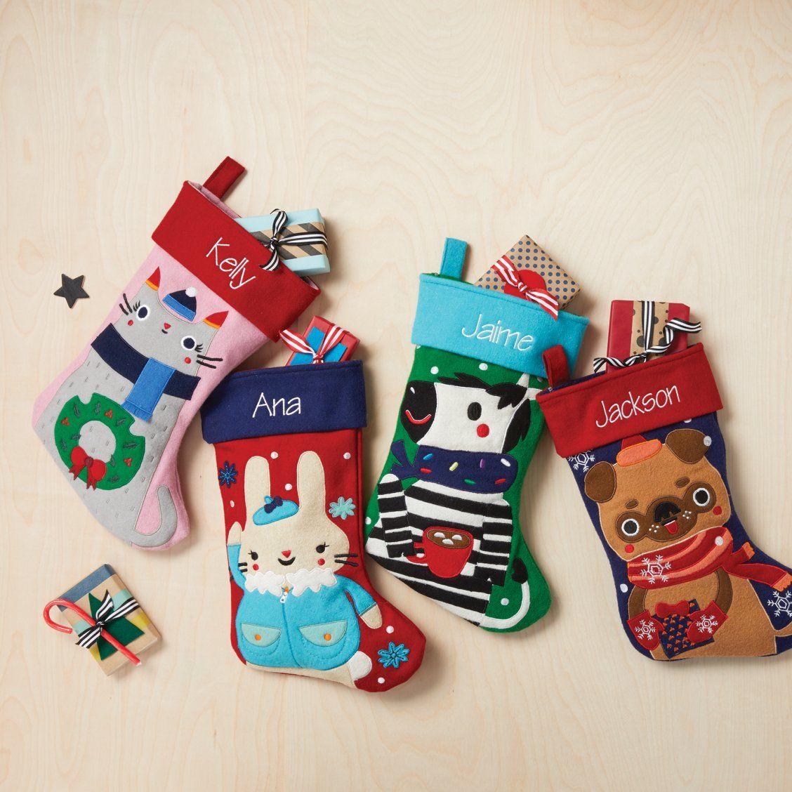 Colorful Kids Christmas Stockings | Christmas | Pinterest | Kids ...