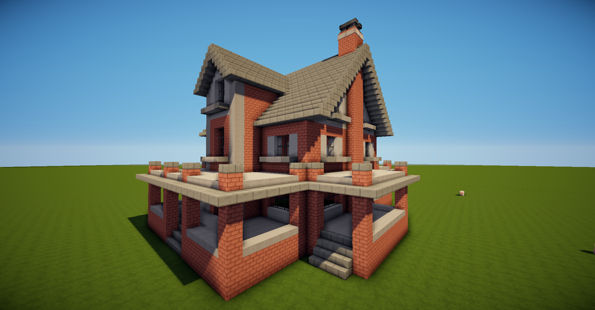 Bald Kommt Ein Neues Tutorial D Minecraft Haus Tutorial Bauen - Minecraft hauser mit bauplan