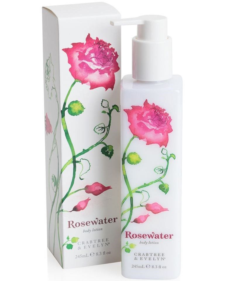 Rosewater Body Lotion 245ml   Crabtree & Evelyn