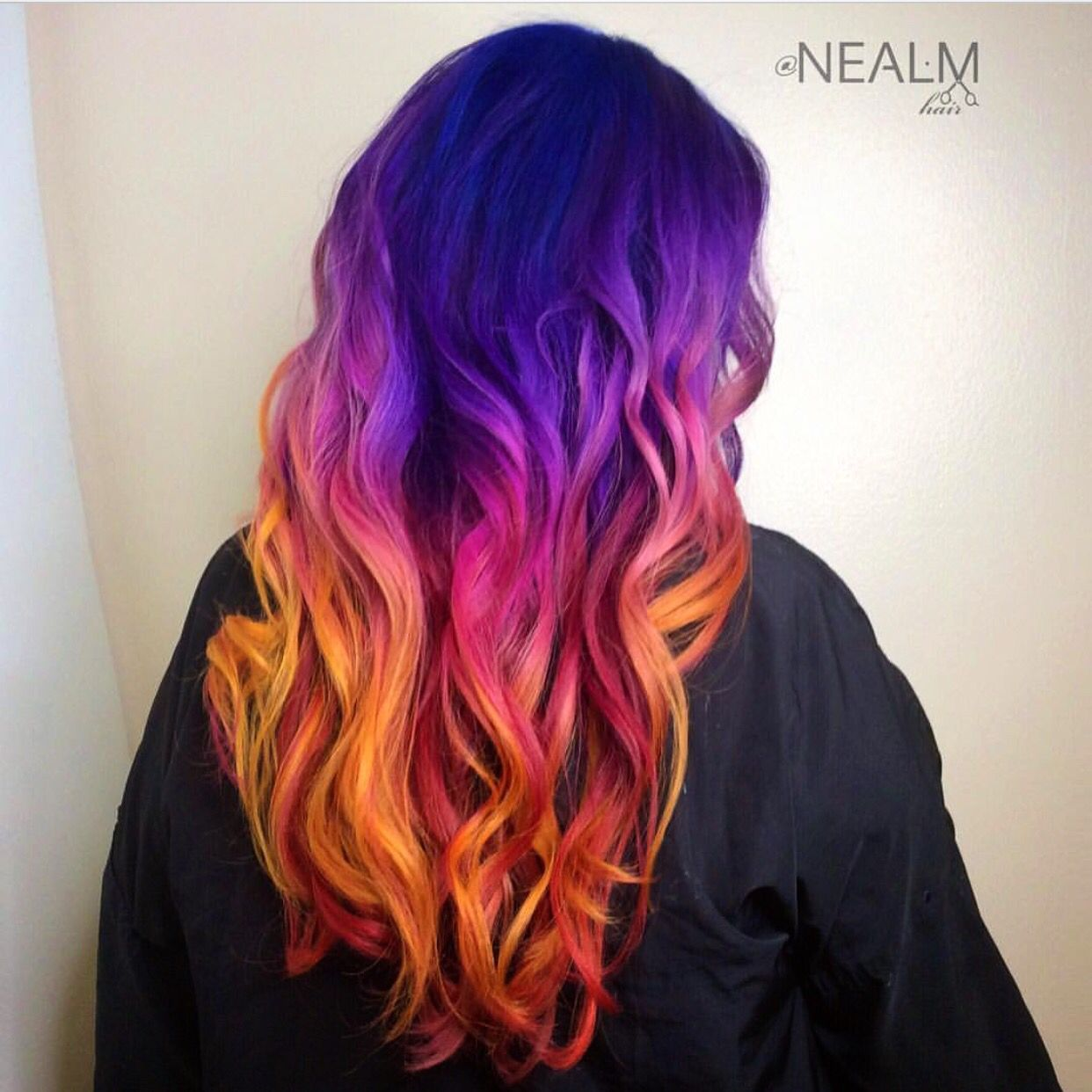Mermaid Hair Sunset Hair Purple Hair Orange Hair Rainbow Hair