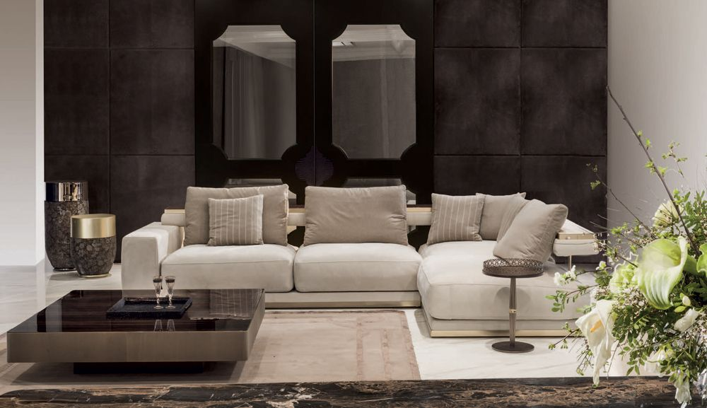 Matisse Sofa 01, Glamour Living Room Design at Cassoni.com | Living ...