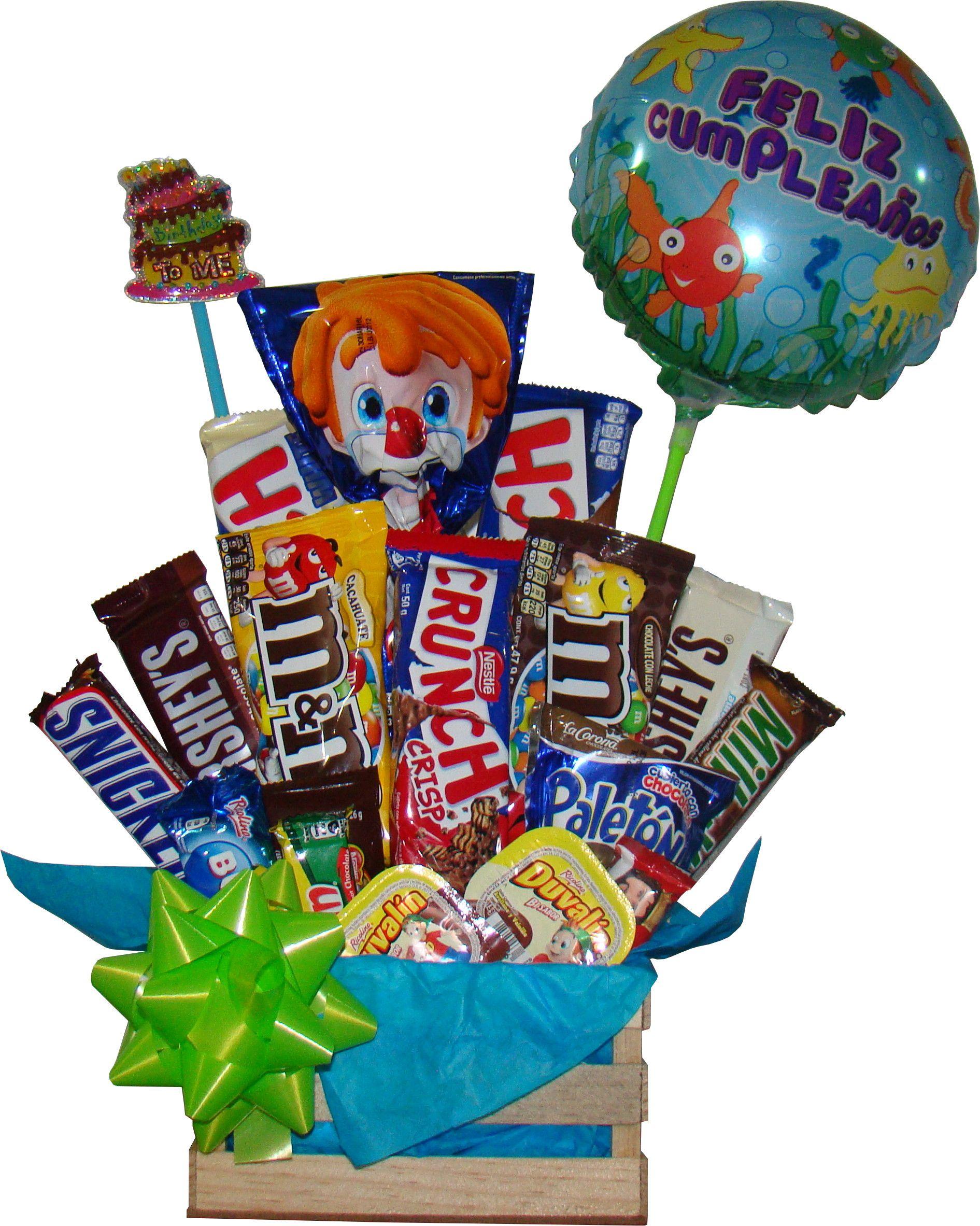 Regalo para hombres con varidad de chocolates en huacal chocolate regalo ideas gift ideas - Regalos de hombre ...