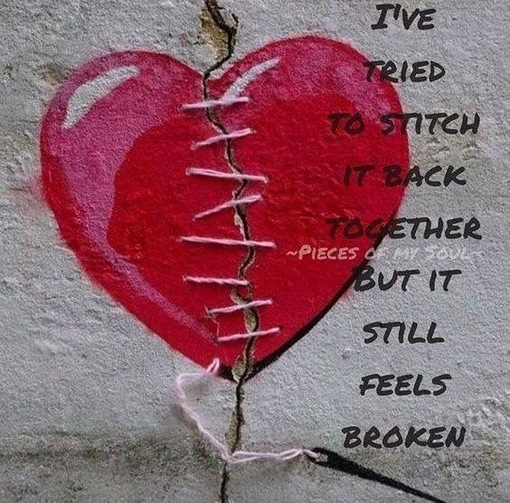 Being heartbroken is like crashing down from a dizzying height, but you don't need to feel alone. we all have been through it at a point in time. I hope my post helps you.
