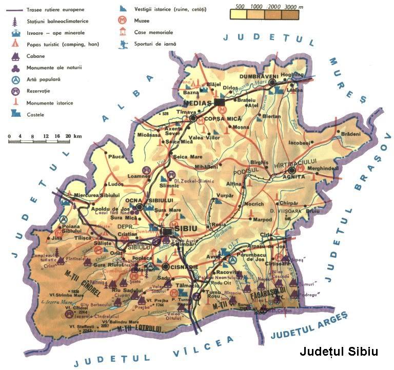 Imagini Pentru Harta Retea Hidrografica Judet Sibiu Monumente