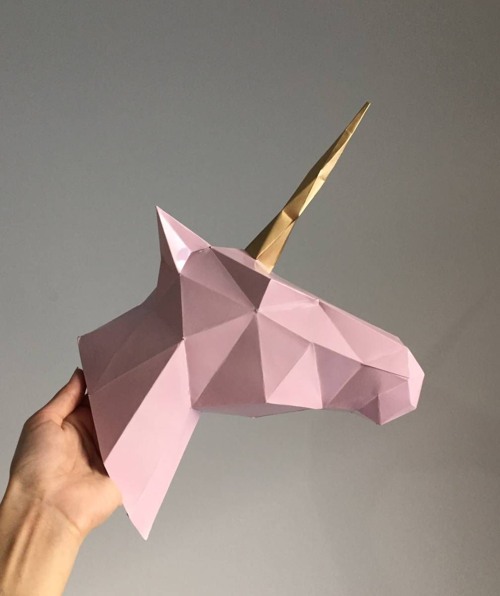 trof233u de unic243rnio unicorns origami and uni