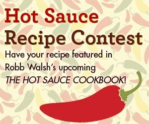 Enter your recipes to The Hot Sauce Recipe Contest for a chance to be PUBLISHED in Robb Walsh's upcoming The Hot Sauce Cookbook! Click the pin to enter & for details (ends June 15th)