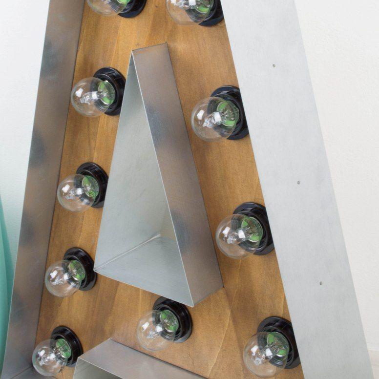 Antic chic decoraci n vintage y eco chic diy c mo for Letras decoracion metal
