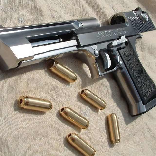 50 Cal Desert Eagle I Owned Two Off These While I Was In The
