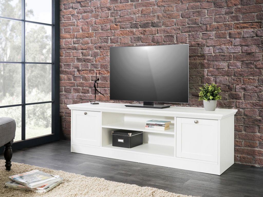 Tv Board Landwood 17 160cm Breit Landhaus Weiss Wohnzimmer Tv Mobel Wohnzimmer Landhaus Mobel