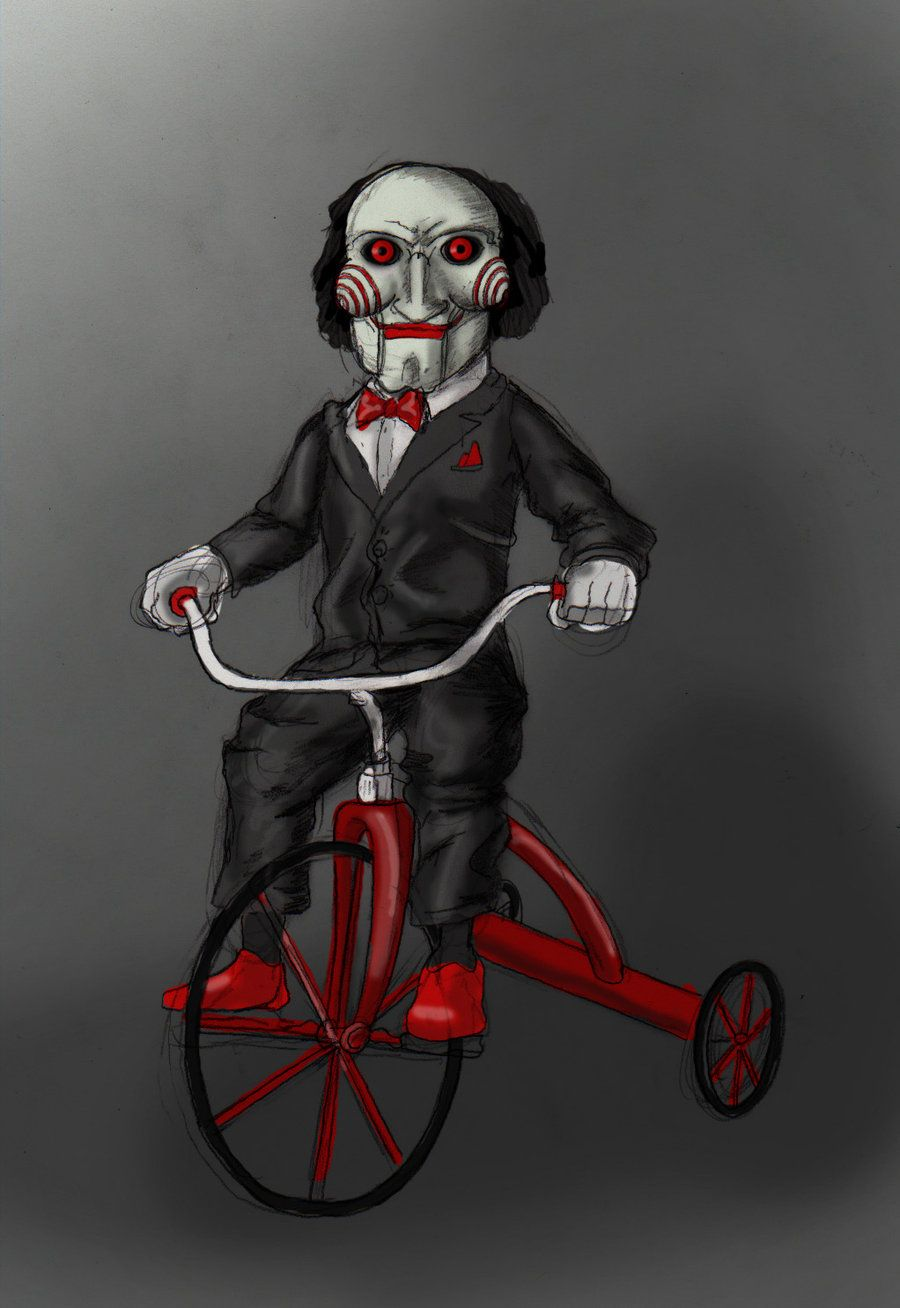 Jigsaw Doll by smthcrim89   Oh the Horror!   Jigsaw doll ...