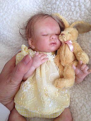Micro Mini Reborn Baby 10 Inch Long Bebe Reborn