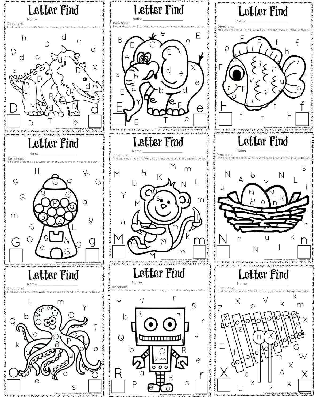 Letter Find A Z