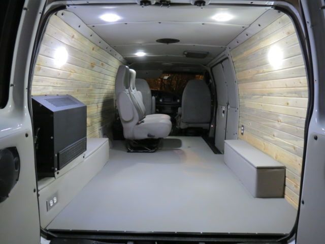Image Result For Ford E250 5 4 Exhaust Van Interior Campervan