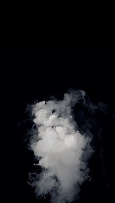 Background Black And White Smoke Teenager Lockscreen Smoke