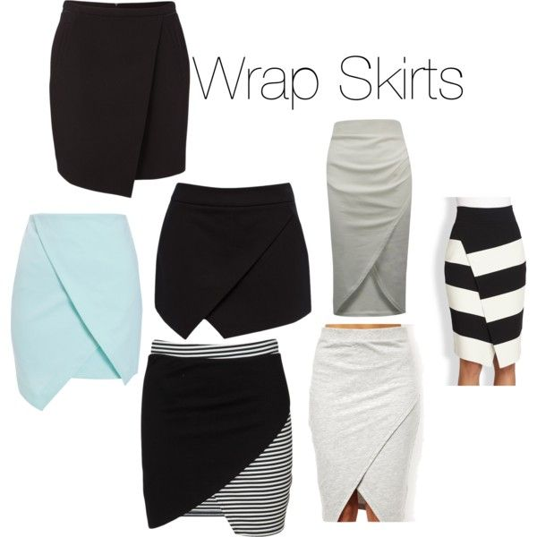 wrap skirts - Google Search | My Closet | Pinterest | Wraps